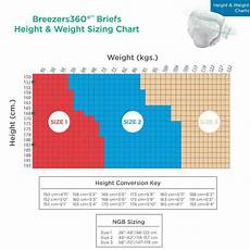 Prevail Size Chart Diapers And Chux Briefs And Diapers Size Charts