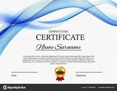 Certificate Of Template Certificate Template Background Award Diploma Design