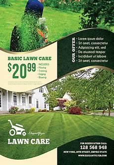 Lawn Maintenance Flyers Lawn Care Free Flyer Psd Template By Elegantflyer