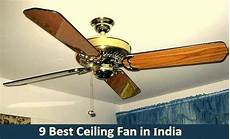 Fancy Fans With Lights India 9 Best Ceiling Fans In India 2019 Reviews Amp Comparison