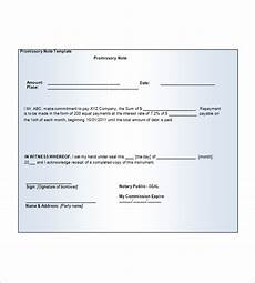 Free Printable Promissory Note Form 7 Blank Promissory Note Free Sample Example Format
