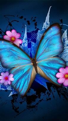 iphone lock screen butterfly wallpaper wallpapers phone blue butterfly 2019 android wallpapers