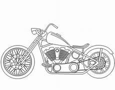 malvorlagen fur kinder ausmalbilder motorrad kostenlos