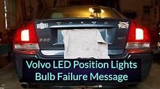 Volvo Position Light Warning Volvo S60 Led Position Lights Error Free Youtube