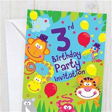 Toddler Birthday Invitation Children S Birthday Invitations Party Delights