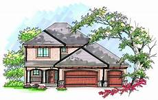 two story with open floor plan 89725ah architectural