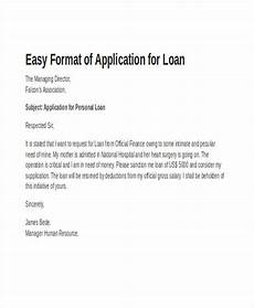 Letter Of Intent For Loan Application Formal Loan Application Letter