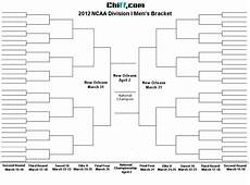 Blank March Madness Bracket Music Is My Soul March Madness 2012 Ncaa Men S