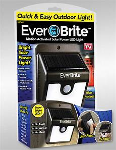Ever Brite Light Led Motion Activated Outdoor As Seen On Tv Ever Brite Motion Activated Solar Powered
