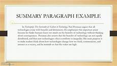 Summary Paragraphs Summary Paragraphs Youtube