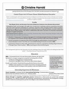 Resume For It Graduate Mba Grad Resume Career Steering Premium Executive Resume