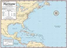 Hurricane Camille Tracking Chart Laminated Hurricane Tracking Chart With Dry Erase Pen Ebay