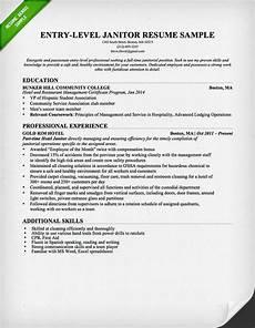 Janitorial Skills Resume Format Resume Samples Janitorial