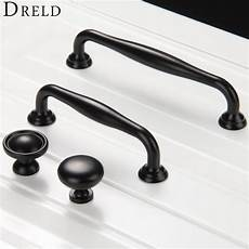 1pc furniture knobs black kitchen door handles cupboard