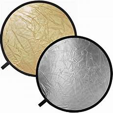 Poor Reflectors Of Light Impact Collapsible Circular Reflector Disc Gold Silver