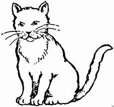 Malvorlage Sitzende Katze Sitzende Katze 2 Ausmalbild Malvorlage Tiere