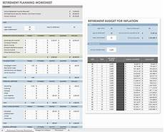 Financial Planning Worksheet Free Financial Planning Templates Smartsheet