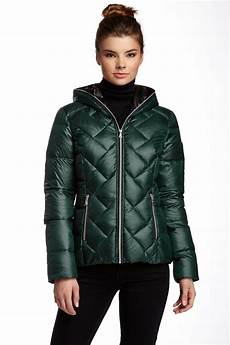 guess winter coats dane guess womens quilted puffer jacket large ebay