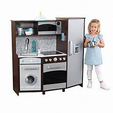Kidkraft Large Play Kitchen With Lights And Sounds White Playset Smoking Hurry Kidkraft Large Play Kitchen With