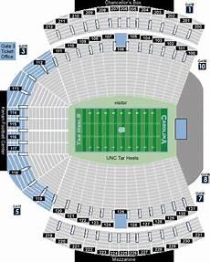 Unc Kenan Stadium Seating Chart Stadium Seating Charts Sports Urbanplanet Org