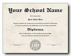 Blank College Diploma High School Diploma Template Printable Certificate