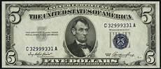 Silver Certificate Dollar Bill Value Chart 1953 5 Silver Certificate Value How Much Is 1953 5