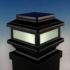 Deck Solar Light Caps Gemini Solar Post Cap Light By Aurora Deck Lighting