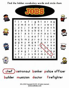 Job Search Activities Jobs Activities Games And Worksheets For Kids