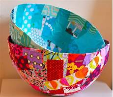 fabric bowls are a and easy craft for photos and