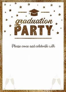 Free Custom Evites Graduation Evite Gold Hat Crazecards