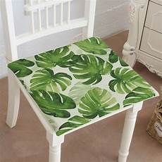 chair cushion southeast style tropical green plant leaves