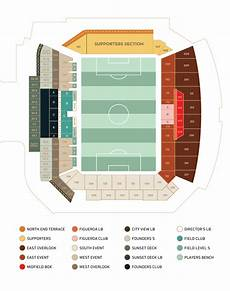 North Park Observatory Seating Chart Maps Amp Directions Los Angeles Football Club