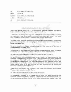 Memo Format For Word Office Memo Template Microsoft Word Templates