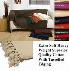 100 brushed cotton honeycomb waffle bed sofa settee arm