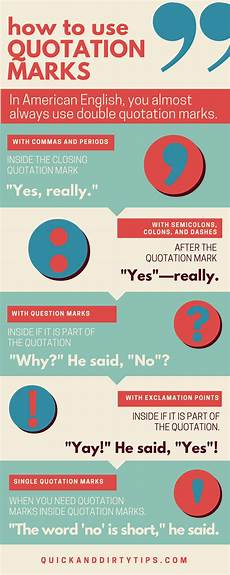 Use Of Quotation Marks How To Use Quotation Marks 9 Examples Grammar Girl