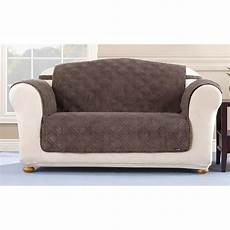sure fit 174 quilted corduroy loveseat pet cover 292845
