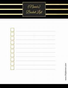 Bucket List Printable Template Free Bucket List Printable Customize Online Amp Print At Home