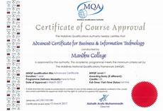 Information Technology Certifications Advanced Certificate For Business Amp Information Technology