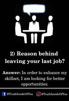 Reason For Leaving Moving 14 Interview Questions And Their Best Possible Answers