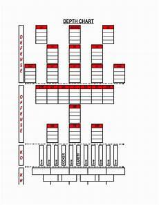 Football Team Depth Charts Printable Football Depth Chart Template Excel Format Inspirational