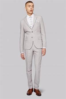 Light Grey Linen Suit Moss London Slim Fit Light Grey Linen Jacket