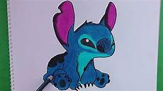 como dibujar y pintar a stitch lilo y stitch how to