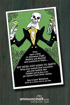 Evites For Party Elegant Skeleton Halloween Party Invitations Come See