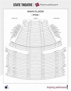Sf Playhouse Seating Chart Seating Charts Playhouse Square