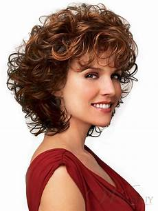 Light Wave Hairstyles 100 Human Hair A Medium Short Curly Light Wig 12 Inches