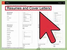 How To Make Resume In Microsoft Word 2010 4 Ways To Create A Resume In Microsoft Word Wikihow