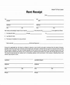 Monthly Rent Receipt Format Free 12 Sample Rent Receipt Forms In Pdf Excel Word