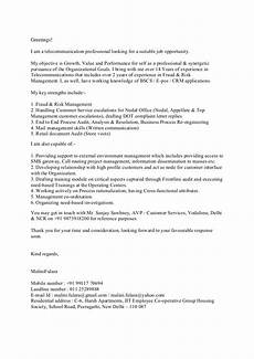 Example For A Cover Letter Cover Letter