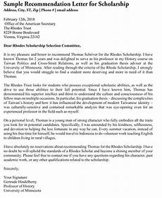 Academic Letter Of Recommendation Sample Academic Recommendation Letter 20 Sample Letters