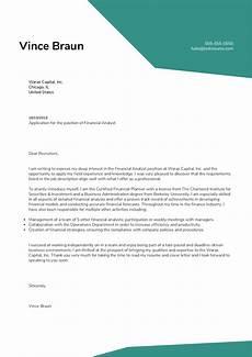 Sample Cover Letter For Finance Manager Position Financial Analyst Cover Letter Sample Kickresume